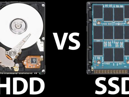 FAQ! Why is a 128GB SSD better than a 1TB hard disk?