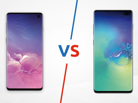 SSR! Samsung Galaxy S10 vs Galaxy S10 Plus: