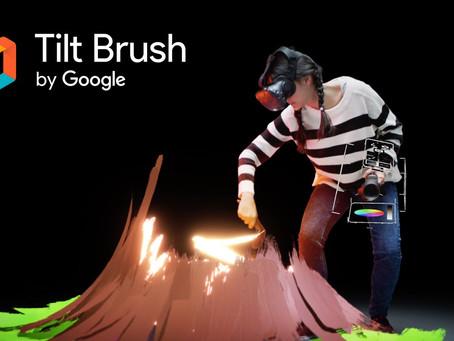 What is Google Tilt Brush??