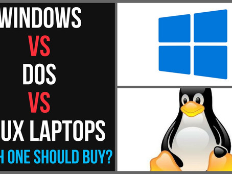Windows Vs DOS Vs Linux|Which Should you go for?