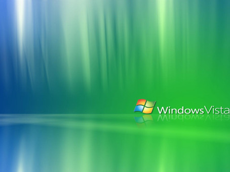 If By Chance, Still If You Are Running Windows Vista Upgrade It Now!