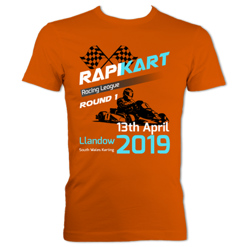 RapiKart Heavyweight T-shirt - Classic Round 1 2019