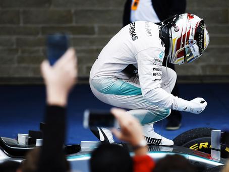 Lewis Hamilton campeón en Austin USA.