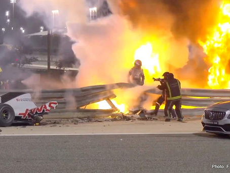 Fuego en Baréin