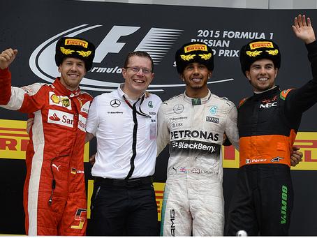 Sochi un gp donde la mala y buena suerte fue protagonista. Hamilton, vuelve a liderar.
