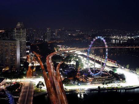 El grán premio de Singapur