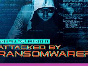 When will your business be attacked by Ransomware?