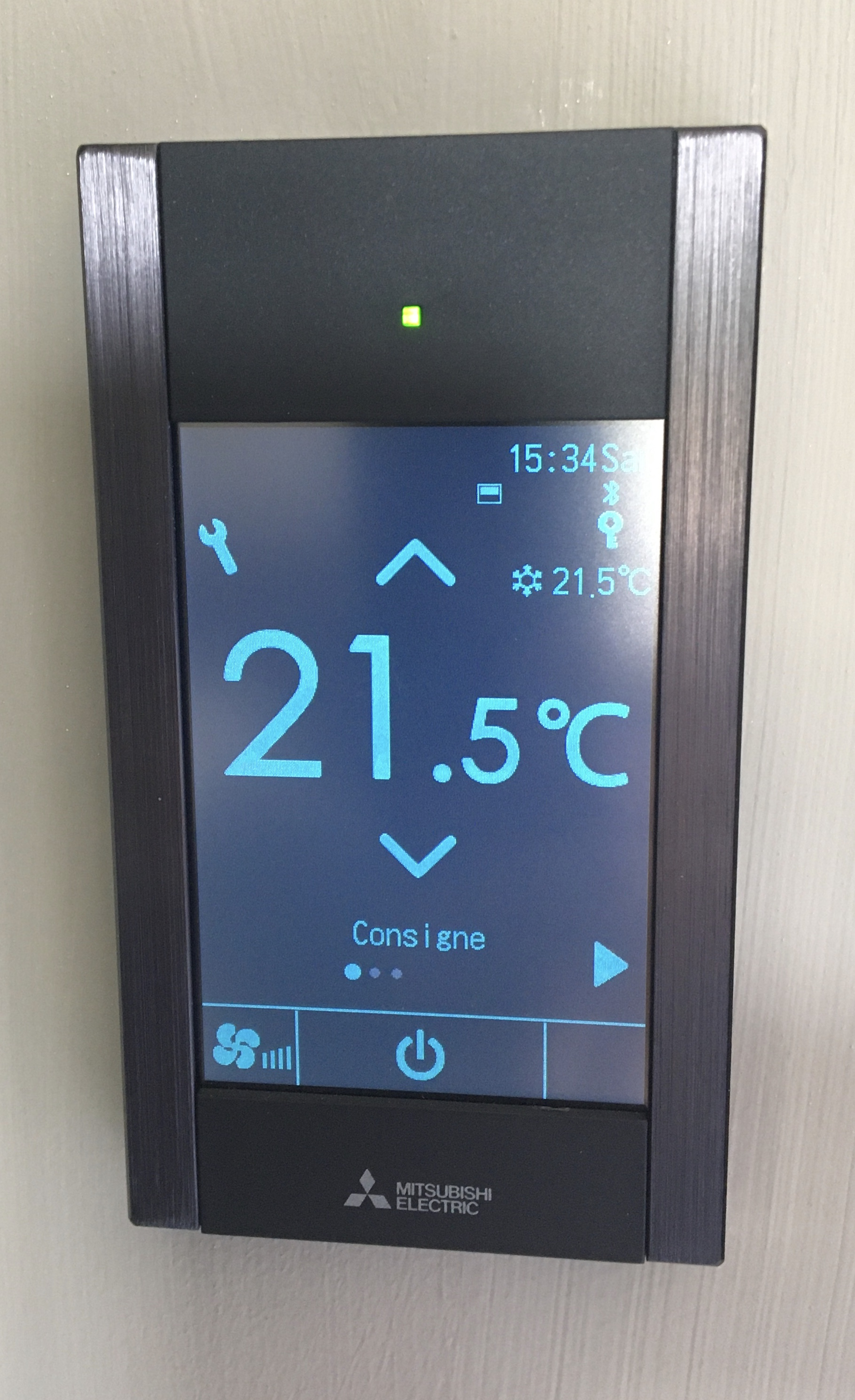 Télécommande Tactile Bluetooth au design épuré