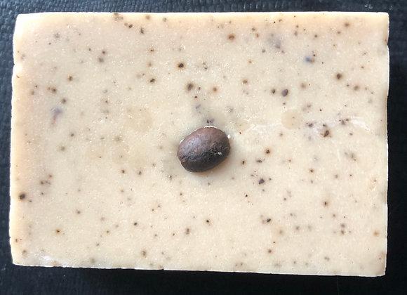Vanilla Nut Latte Exfoliating Soap Bar