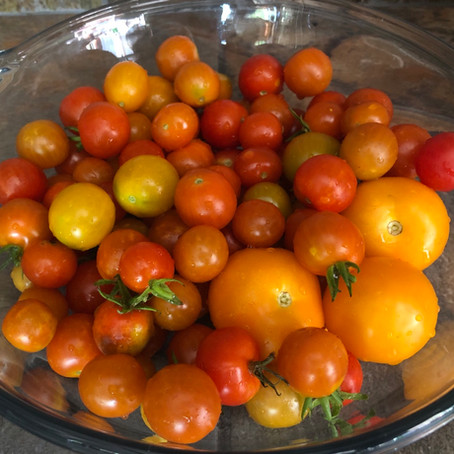 For the LOVE of Fresh Cherry Tomatoes