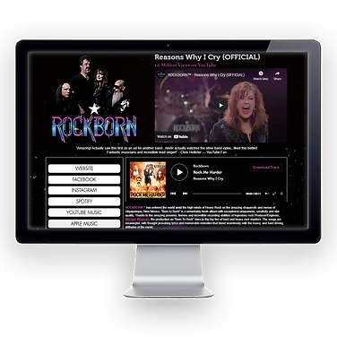 Rockborn is a hard rock band.