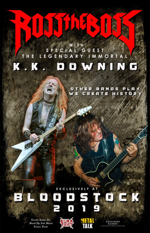 Ross the Boss and K. K. Downing