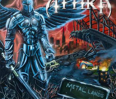 "ATTIKA - ""METAL LANDS"" - COVER, TRACKLIST, RELEASE DATE: 26TH FEBRUARY 2021"