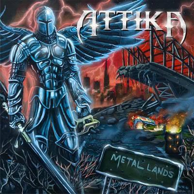 "ATTIKA - ""METAL LANDS"" - COVER, TRACKLIST, RELEASE DATE: 26TH FEBRUARY 2021"