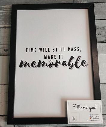 Make it Memorable