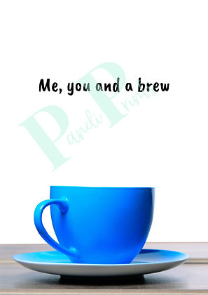 Me, you and a brew!