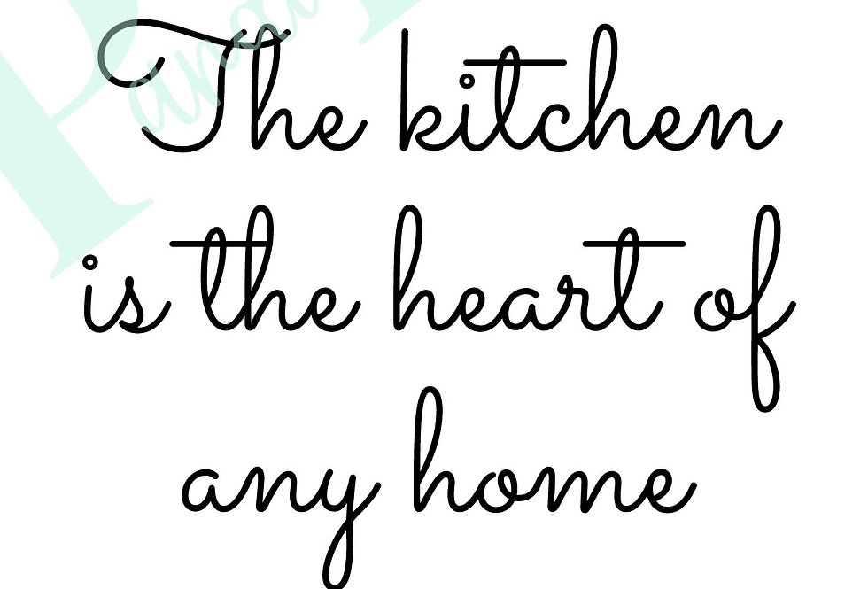 Heart of the home!
