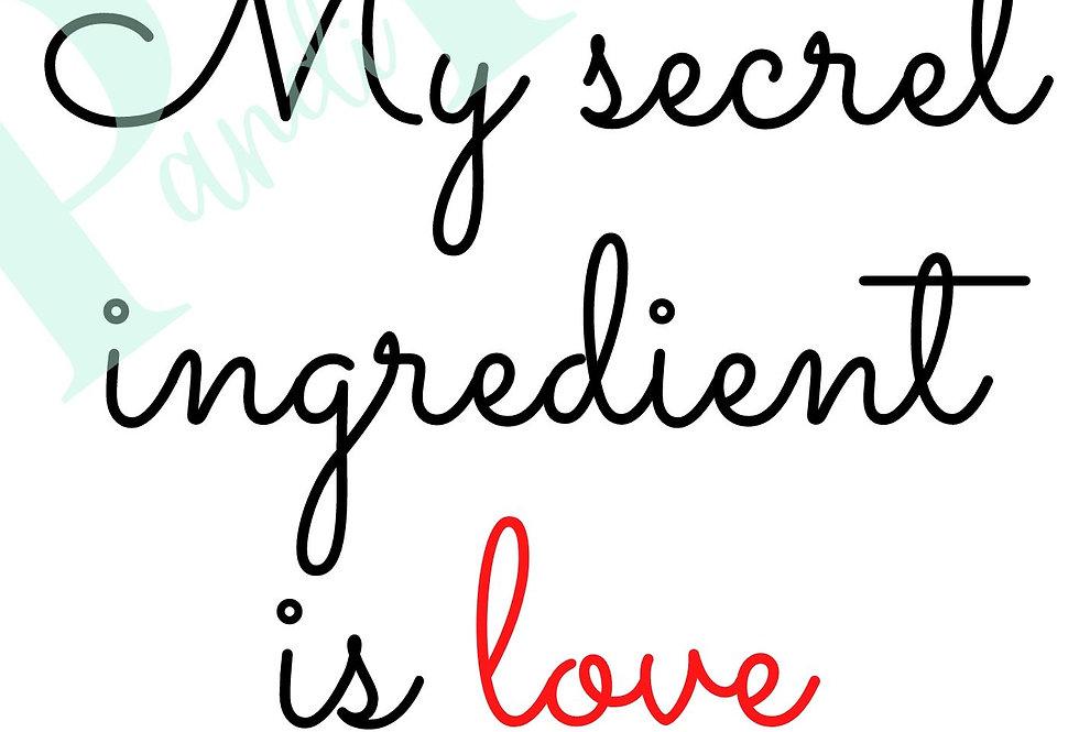 My Secret Ingredient!