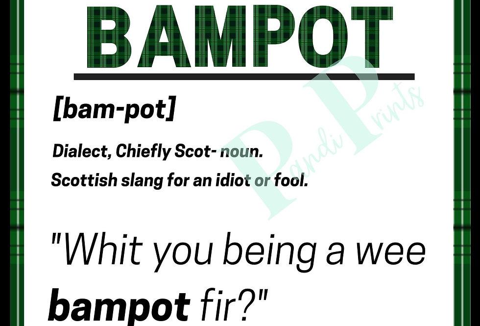 Bampot Definition