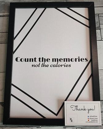 Count the memories
