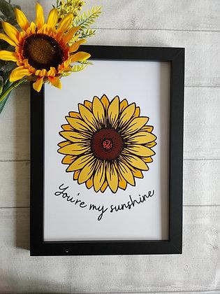You're my sunshine