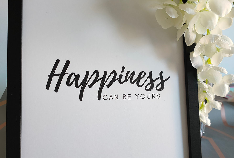 Happiness can be yours