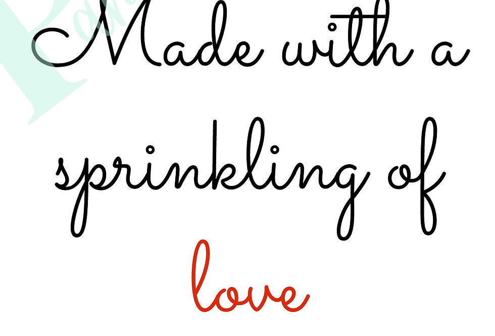 Sprinkling of love!