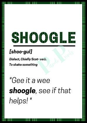 Shoogle Definition