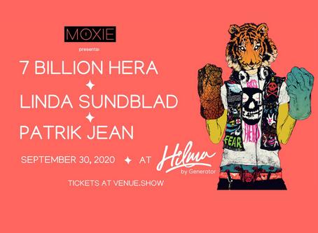 Catch me live in Stockholm on September 30