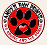 Andy's Paw Prints.JPG