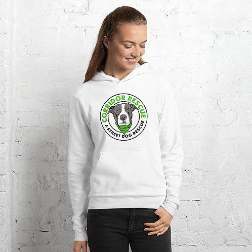 Logo Unisex hoodie-White