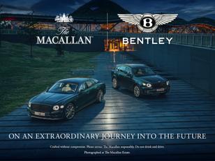 The Macallan en Bentley Motors slaan handen ineen