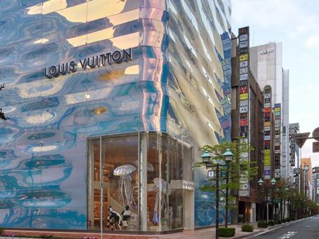 Louis Vuitton's flagshipstore in Tokio
