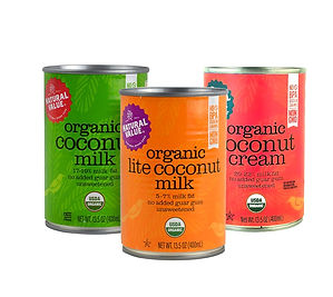 Natural Value Organic Coconut Milk BPA free