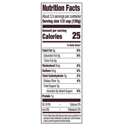 NV Organic Diced Tomatoes, No Salt_NutritionLabel-Back