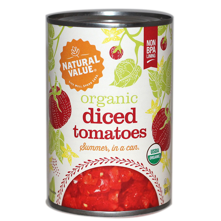 NV Organic Diced Tomatoes
