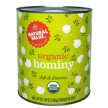 NV Organic Hominy-108oz