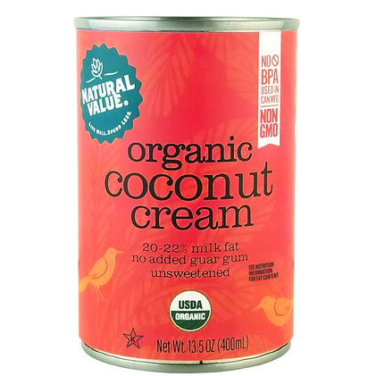 NV Organic Coconut Cream