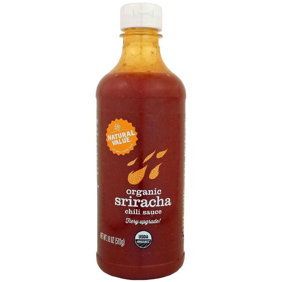 NV Organic Red Sriracha Sauce