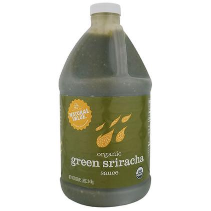 NV Organic Sriracha Green Chili Sauce