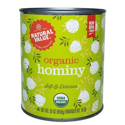 NV Organic Hominy