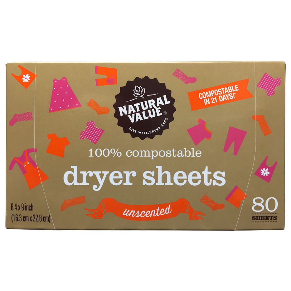 NV Dryer Sheets - Unscented