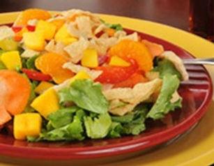 Fruit & Turkey Salad