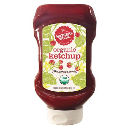 Natural Value Organic Ketchup-Front
