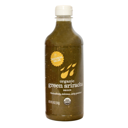 Natural Value Organic Green Sriracha Sauce