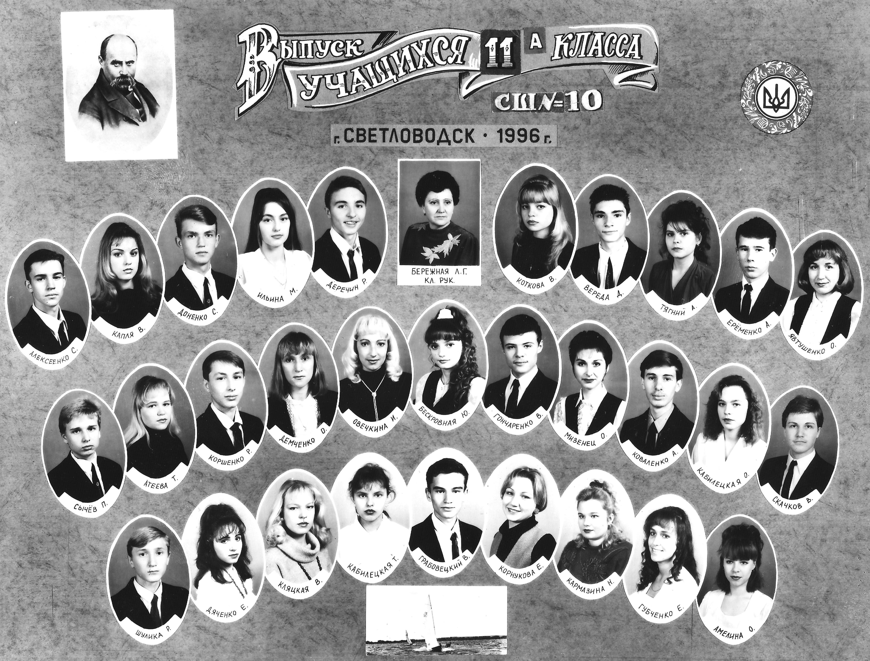 1996 одноклассники
