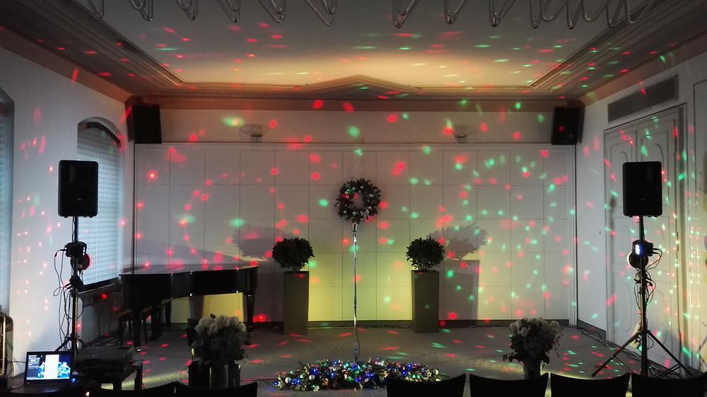 Аренда светового оборудования в Праге и по всей Чехии. Организация праздников в Чехии.