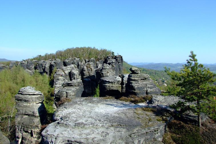 Горы северной Чехии
