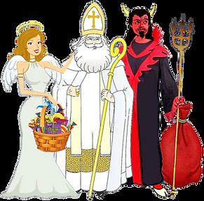 Святой Микулаш, Черт и Андел в Чехии, Чешские традиции к рождеству