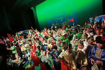 Детский фестиваль в Европе